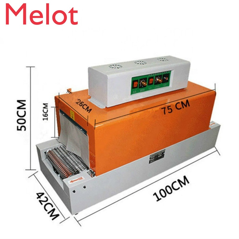hot sale JZSY-RS260 small shrink wrapping machine/shrink film machine/heat shrink packing machine price small vertical granule drug pharmaceutical packing machine
