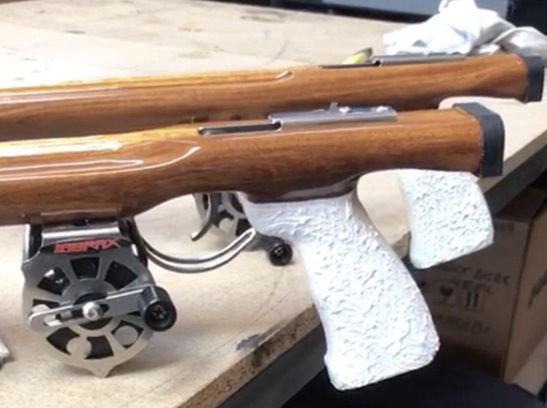 Labrax Spearfishing Weight Wooden Harpoon 42mm