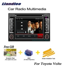 Liandlee-voiture pour Toyota Voltz   2002 ~ 2004 2 din, GPS Android, Navi Navigation, Radio, lecteur CD DVD, cartes Audio vidéo, stéréo, OBD2 TV