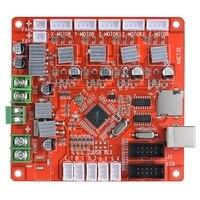 Anet A1284-Base панель управления Материнская плата DIY самосборка 3D настольный принтер RepRap Prusa I3 комплект