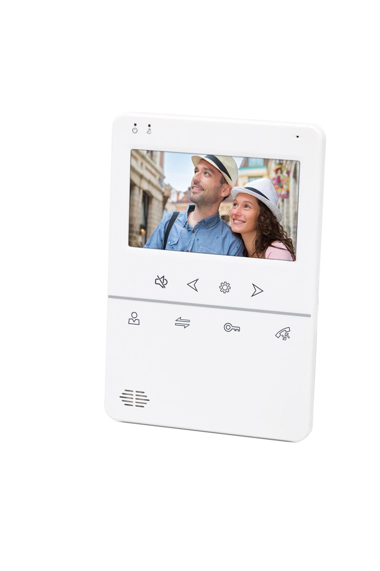 Joytimer Video Door Phone Intercom Camera 4.3-Inch Video intercom Record Unlock DoorBell Pinhole Camera Security Control System enlarge