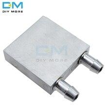 40x40x12 мм алюминиевый Охлаждающий радиатор вентилятора для ЦП светодиодный TEC1-12706 промышленный инвертор