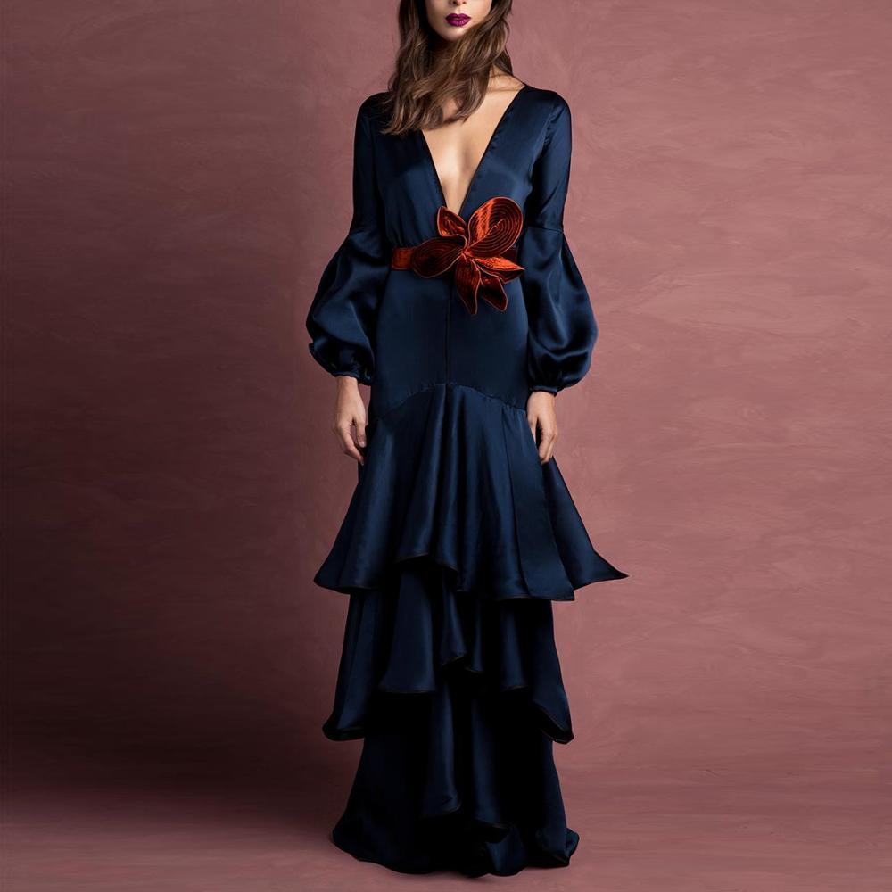 Европа и США, чтобы продавать через Amazon source производители поставляют элегантное однотонное платье
