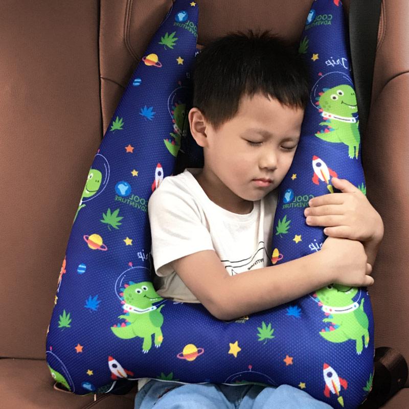 Детское автокресло для младенцев, поддержка головы, детский ремень, Крепежный ремень, регулируемый позиционер для мальчиков и девочек, детс...