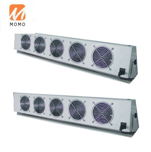 Industrial Workshop Use Static Elimination Overhead Ionizing Air Blower with 2/3/4/5 Fans