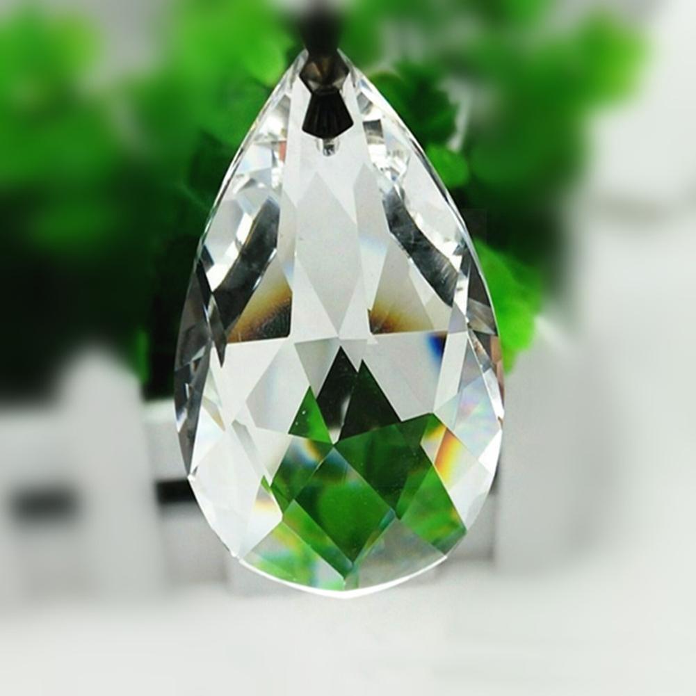 10 шт. люстры из прозрачного стекла, зеркальные люстры, радужные люстры, освещение, лампа 28 мм, подвесные украшения, детали M0r7