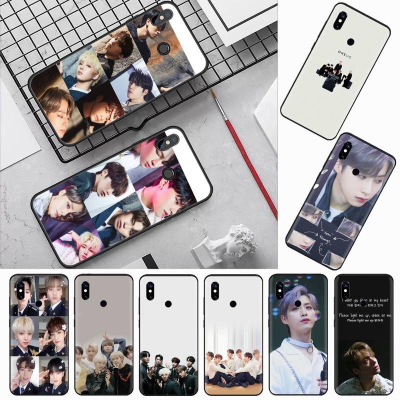 Oneus kpop Boy, funda de teléfono para Xiaomi suave personalizada coreana Redmi 4x5 plus 6A 7 7A 8 mi8 lite 9 note 4 5 7 8 pro