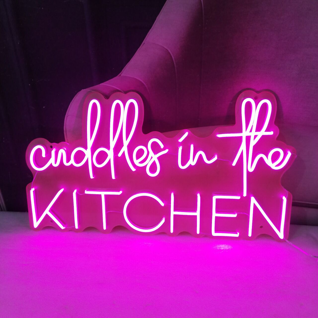 Personalized Neon Signs Wall Hanging Decor for Business Logo Slogan Wedding Handmade with Neon Flex Custom Neon Signs Acrylic