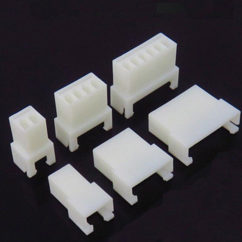 """20/50/100 шт XH2.54 """"Мама""""/""""папа"""" Корпус Пластик корпус для подключения Американская классификация проводов 2р/3 P/4 P/5 P/6 P/7 P/8 9 P/10 P соединитель без терминал"""