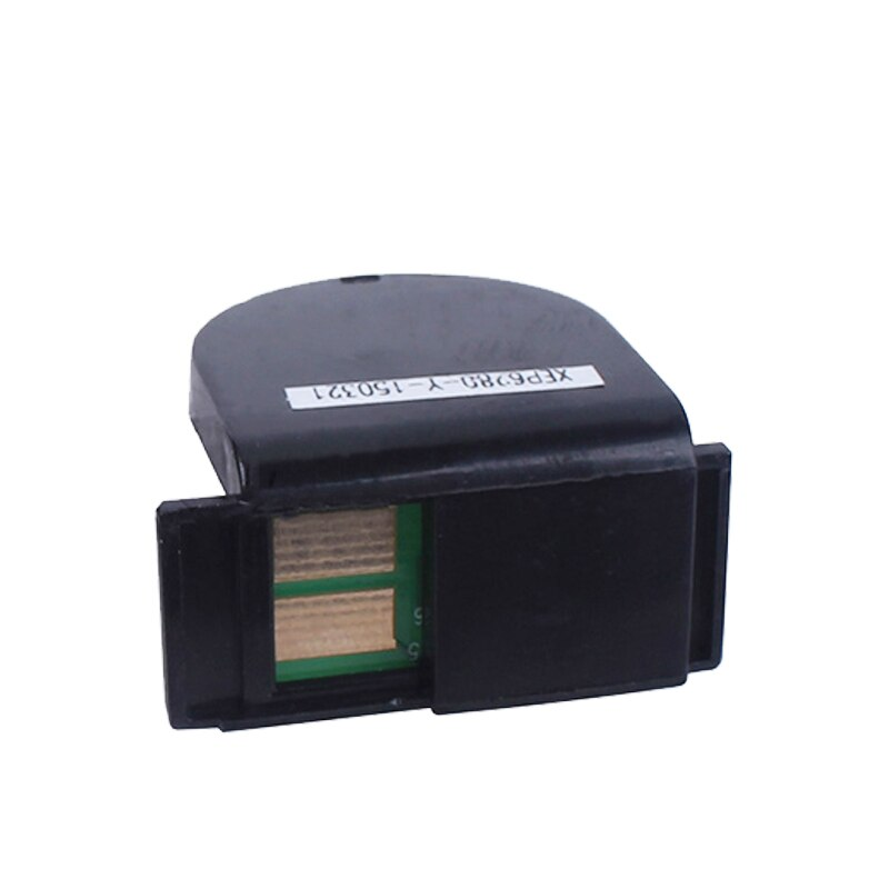 Toner chip para Xerox DocuPrint C3300 C2200 color cartucho de impresora láser restablecer CT350674 CT350675 CT350676 CT350677