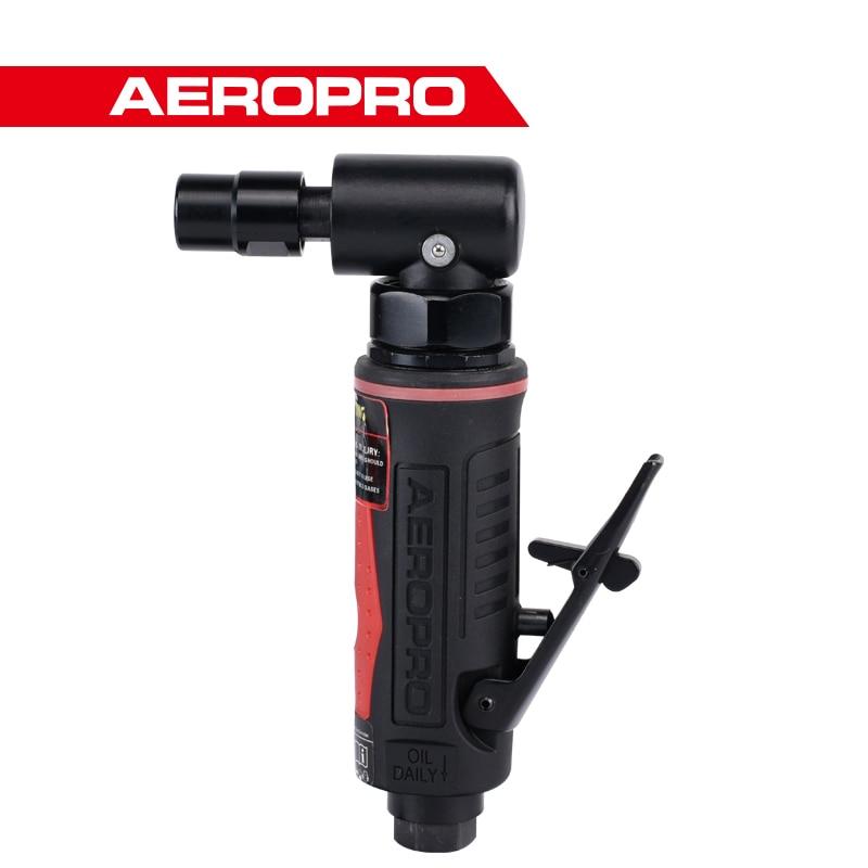 Aeropro Power Air Grinder 1/4 inch Industrial Tool Grinder Pneumatic Micro Angle Grinder enlarge
