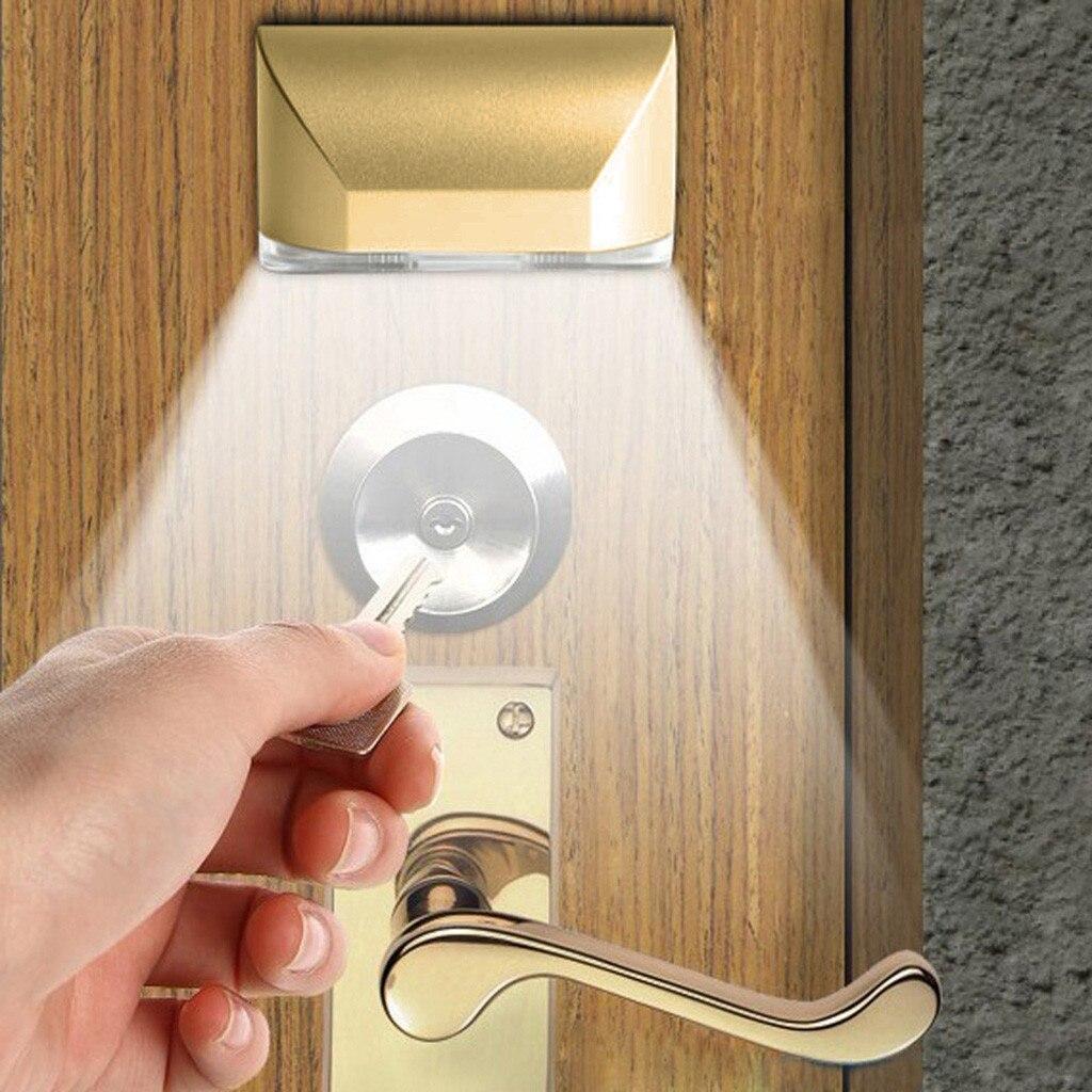 Luz LED inteligente con Sensor De movimiento para cerradura De puerta, Luz...