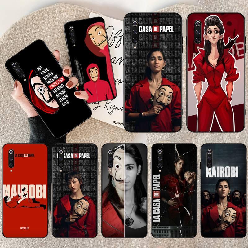 Чехол для телефона Money Heist House Paper La Casa de pape для Redmi Note 8 8A 7 6 6A 5 5A 4 4X 4A Go Pro Plus Prime nairobi