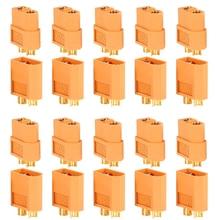10 paires 20 pièces XT60 XT30 Amass XT30U XT60 + mâle femelle connecteurs de balle prise pour RC quadrirotor FPV course Drone Lipo batterie