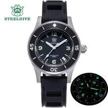 Steeldives SD1952 montre de plongée homme lunette céramique 41MM cadran noir saphir C3 lumineux NH35 mouvement automatique montre mécanique