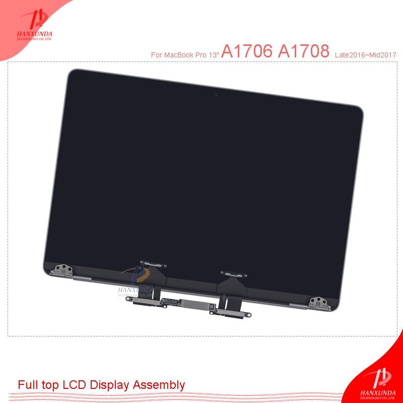 A1706 A1708 LCD HANXUNDA новый оригинальный экран ЖК-дисплея в сборе для Macbook Pro Retina 13,3 подлинный дисплей в сборе