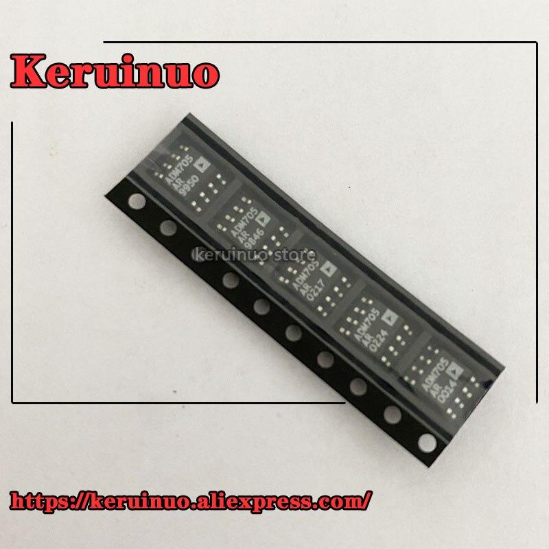 20/pces adm705arz adm705ar adm705a adm705 sop8 integrado ic chip novo original