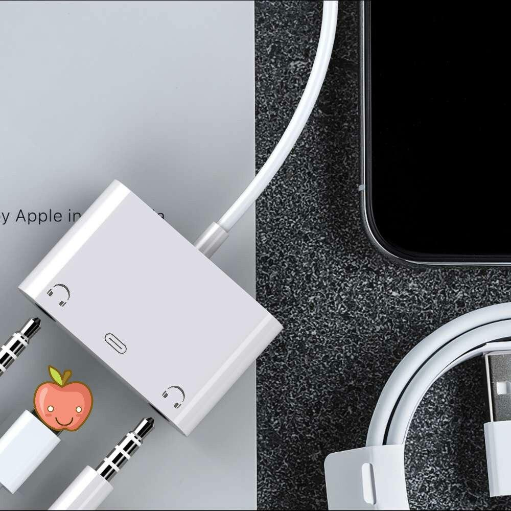 Adaptador de cargador de iluminación para iphone X 7, adaptador de carga...