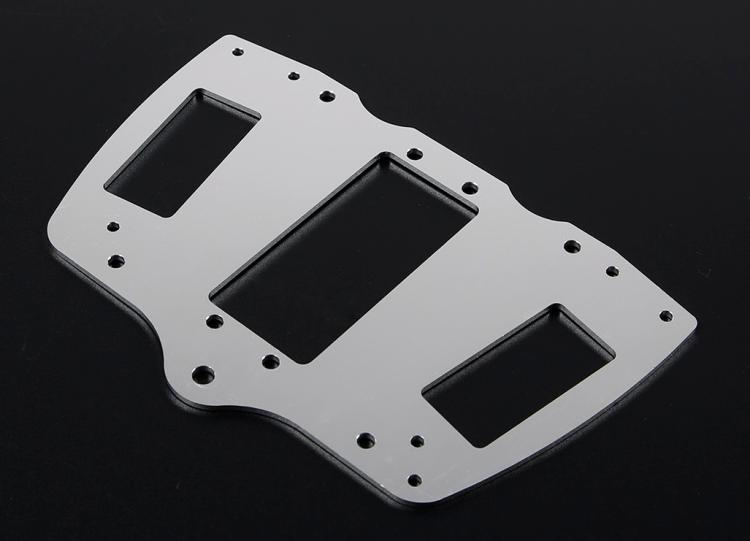 CNC Fixed Plate for Steering Servo for 1/5 FG ROFUN 4WD BM Monster Truck enlarge