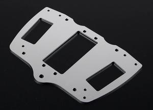 CNC Fixed Plate for Steering Servo for 1/5 FG ROFUN 4WD BM Monster Truck
