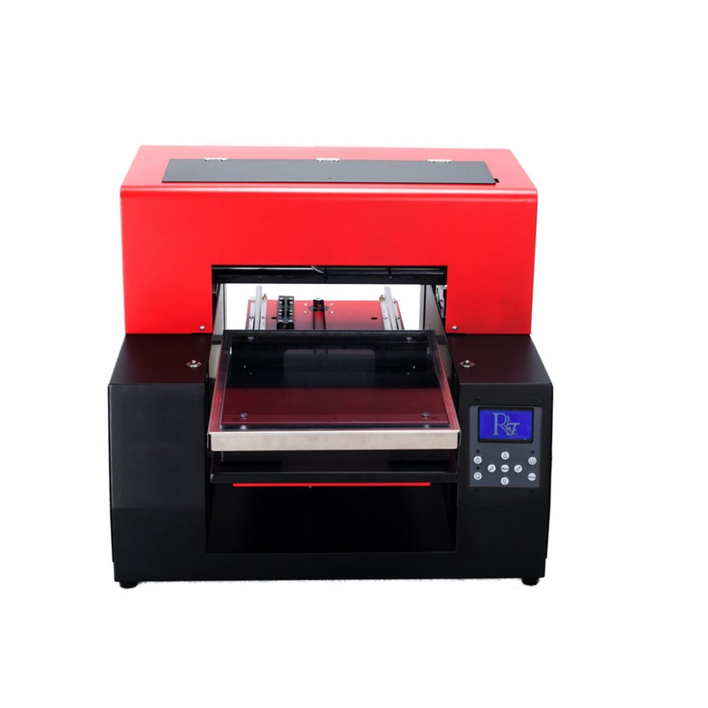 Multifunctionl A4 digital inkjet t-shirt printer with RIP software
