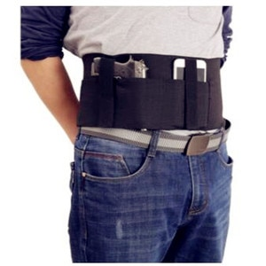Outdoor quick pull sleeve Multifunctional tactical  Elastic waist belt Universal invisible waist sleeve 95-115cm length