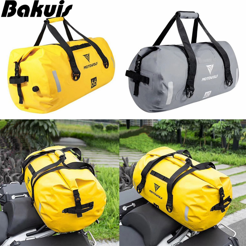 Bolsa de almacenamiento impermeable de gran capacidad, bolsa de senderismo para ciclismo, motocicleta, para Rafting canoa, senderismo, natación, bolsa de viaje