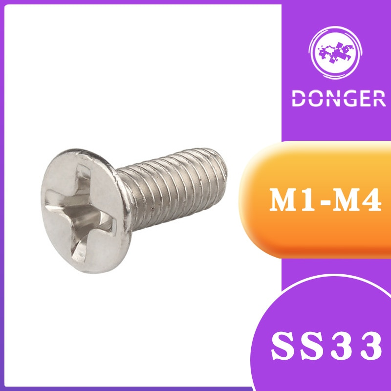 50/100 個 M1-M4 キロネジニッケルメッキ SSD 電子修理ネジアクセサリー用 SS33
