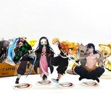 Tueur de démons Kimetsu no Yaiba Tanjirou Nezuko Zenitsu Inosuke # B support acrylique figure modèle support de plaque gâteau topper anime
