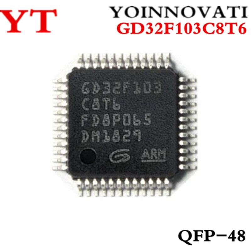 ¿5 uds GD32F103C8T6 32F103C8T6 GD32F103 C8T6 QFP-48 mejor calidad ic?