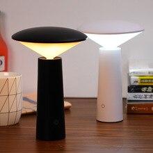 Moderne Cordless Bar Tisch Lampen Touch Dimmen Schlafzimmer Tragbare Led USB Aufladbare Schreibtisch Lampe Nacht Studie Stand Leuchten