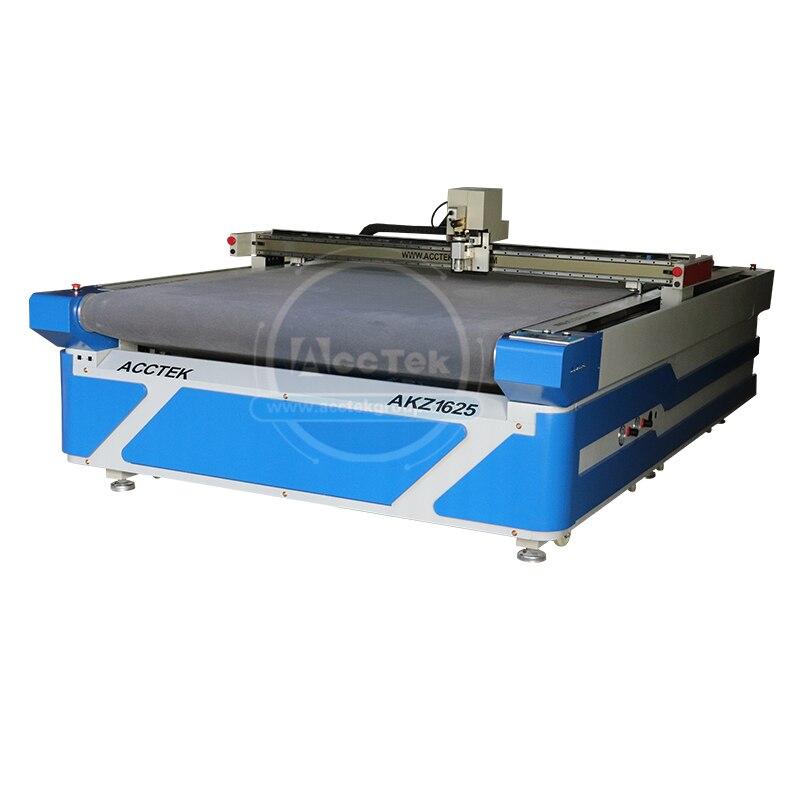 Máquina de corte de tela de cuchillo oscilante cnc de precio barato de China para prendas de lana