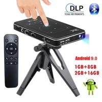 4K Projecteur Mini Wifi Android Projecteur Full HD 1080P LED Bluetooth VIDEO Cinema Pour La Maison beamer PR47004