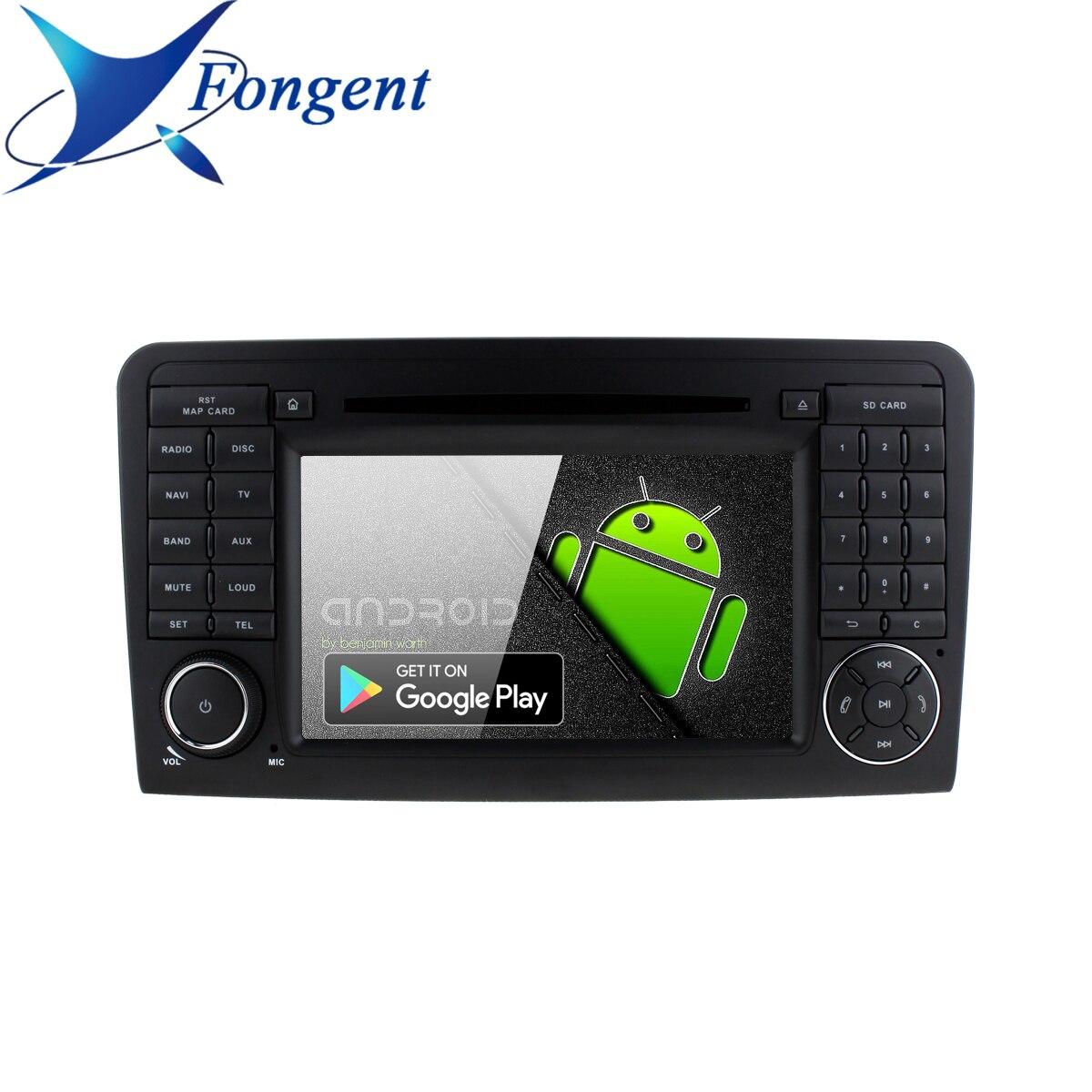 Android reproductor de DVD para Mercedes Benz ML300 ML320 ML350 ML430 ML450 ML500 ML550 ML55 ML63 AMG Radio de coche GPS RDS Multimedia ESTÉREO