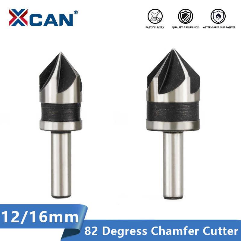 Xcan Afkanten Cutter 2 Stuks 12 16mm 82 Graden Hout Metaal Hole Cutter 5 Fluit Gat Boor Countersink Boor Bit Boren Aliexpress