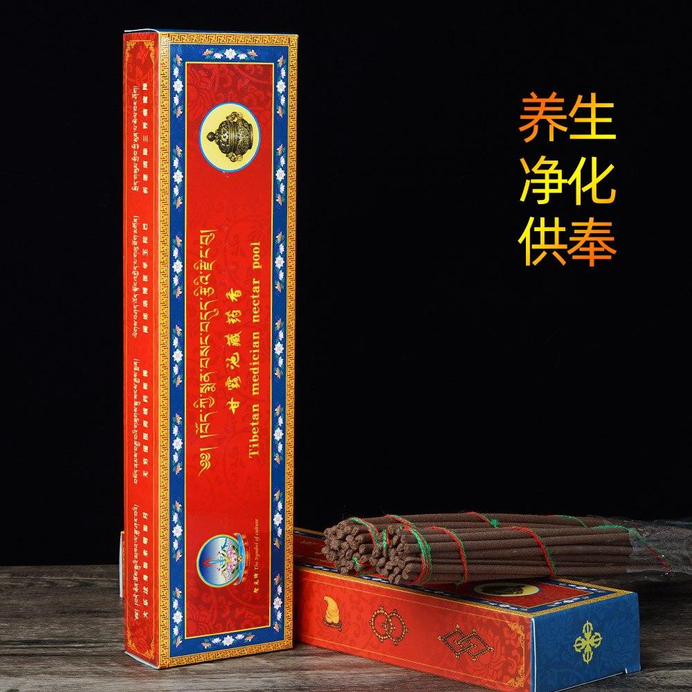 Incienso de Buda para meditación, Manna tibetana hecha a mano con plantas...