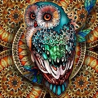 diamond painting full squareround owl 5d diy diamond embroidery mosaic picture of rhinestone abstract room decoration
