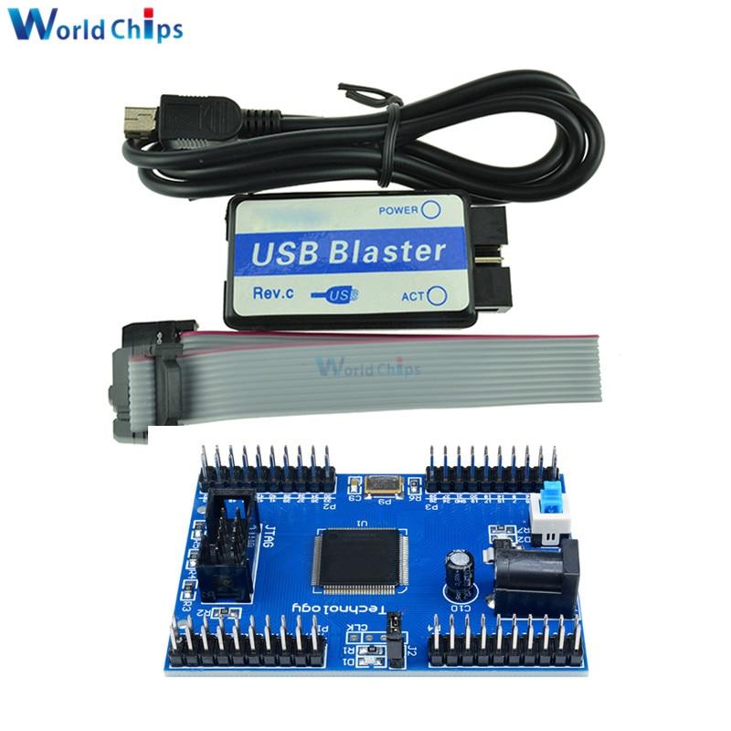 Diymore ПЛИС Max II EPM240 CPLD модуль макетной платы обучения доска USB бластер мини USB кабель 10-контактный JTAG соединительный кабель «сделай сам»