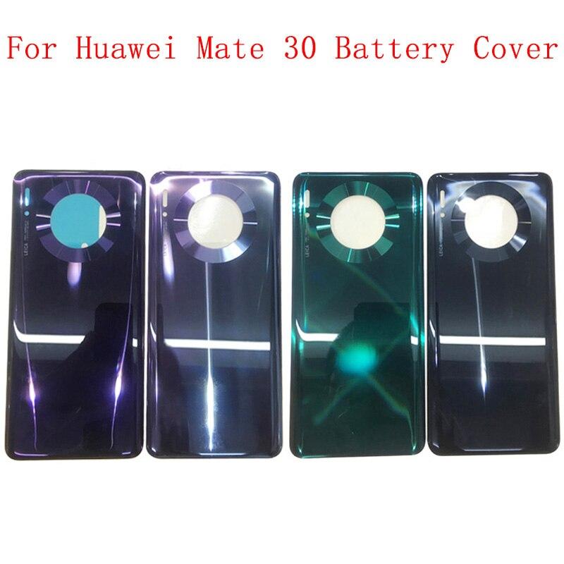 Coque arrière de remplacement pour Huawei Mate 30, couvercle de batterie avec Logo
