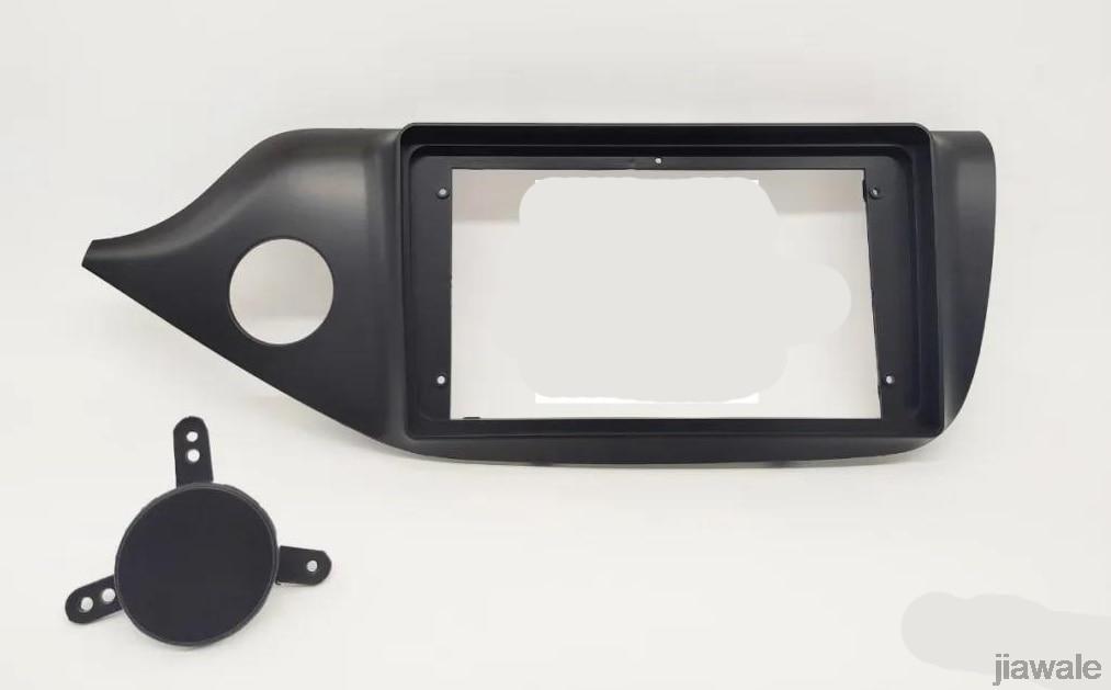 """Coche 10,1 """"Marco de salpicadero para radio faciales instalar Panel tablero Trim Kit para Kia Ceed 2011-2018"""