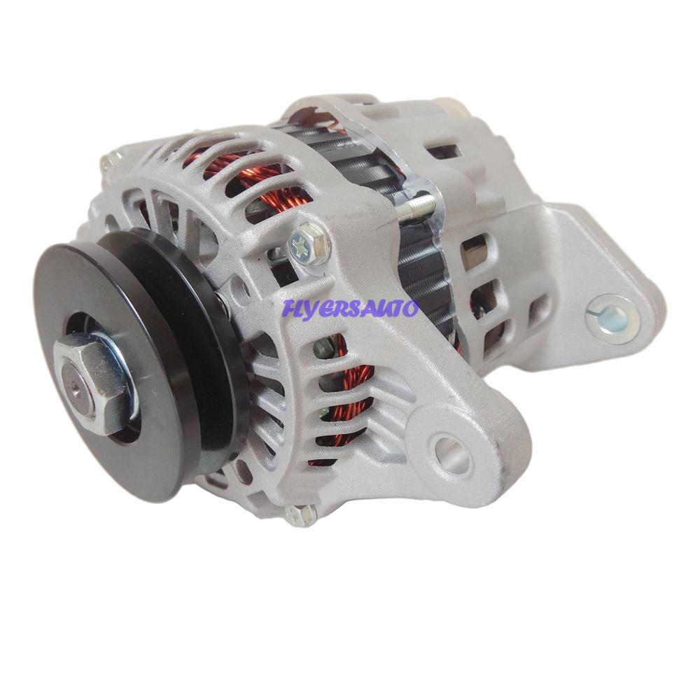 Новый генератор для Nissan H20 H15 вилочного погрузчика 23100-50K10 23100-87V10 23100-50K10 A7T03371 A7T03371A 12136 AUTOPARTS