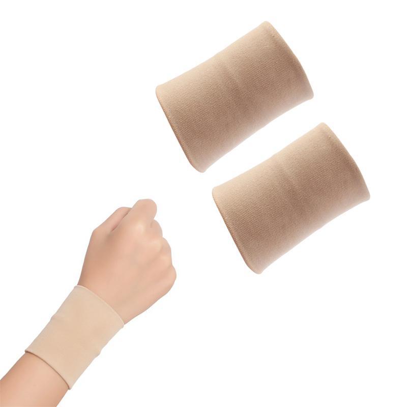 2 pçs suporte de pulso esportes médicos bandas de pulso cinta protetor de lesão respirável guardas de pulso braceletes envoltório de pulso