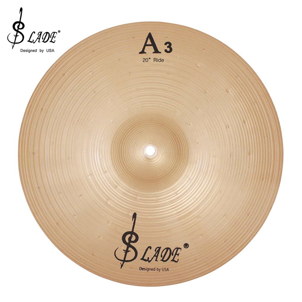 SLADE 18/20 Inch Phosphor Bronze Cymbals For Drums Kit Crash Ride Cymbal Percussion Musical Instrument Jazz Drum Music Tools enlarge