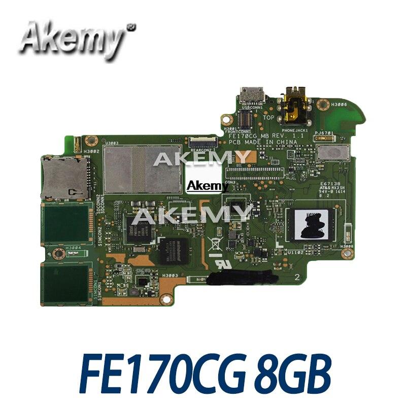 Placa base de tableta Amazoon FE170CG para For Asus ME70C, placa base...
