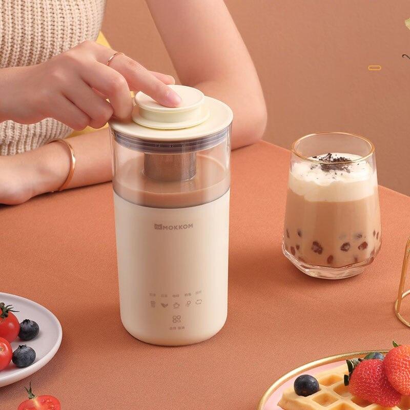 5 في 1 الكهربائية صانع القهوة متعددة الوظائف المحمولة الحليب الشاي آلة الحليب Frother التلقائي ماكينة إعداد الشاي لتقوم بها بنفسك الحليب الشاي ا...