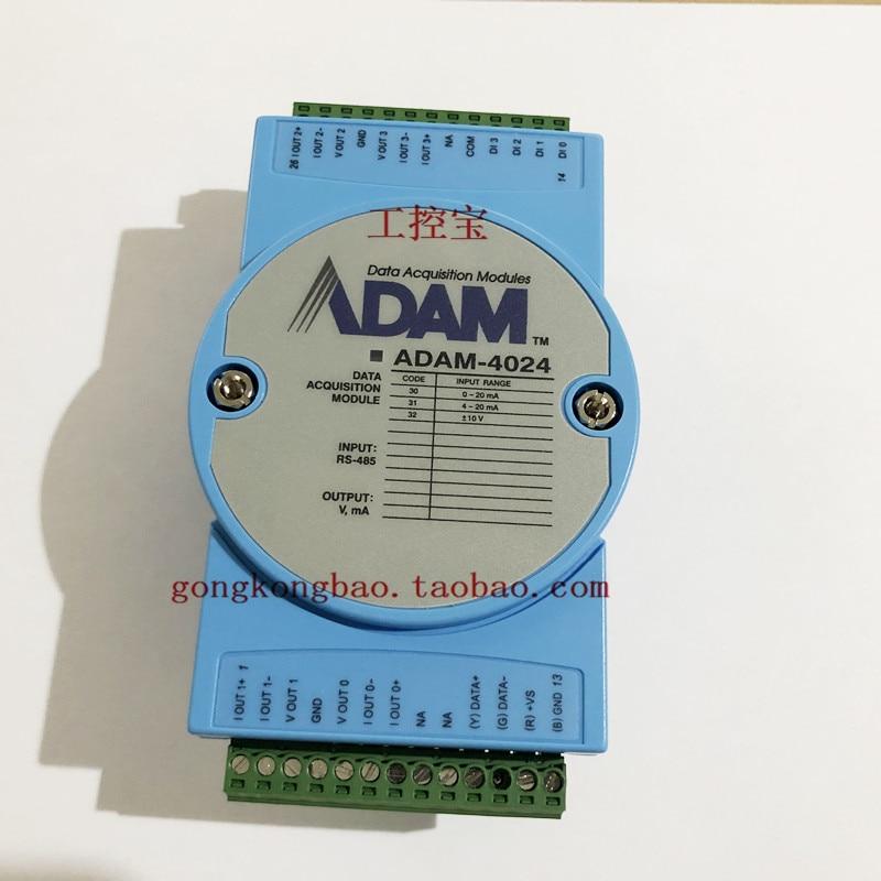 DAM-4024 وحدة الإخراج التناظرية 4-way Adam-4024-B1E الأصلي