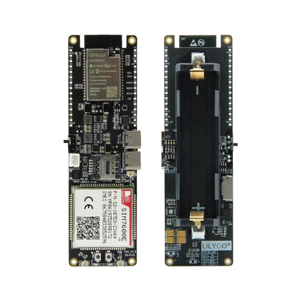 LILYGO® TTGO SIM7600E-H / SIM7600G-H 2R Module ESP32-WROVER-B Chip WiFi BLE 18560 Battery Holder Solar Charge Development Board enlarge