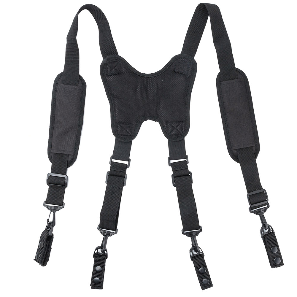 H-Type Design Suspenders Heavy Duty Work Tool Belt Suspenders Men With 4 Support Loops For Reducing Waist Weight Tool Pouch