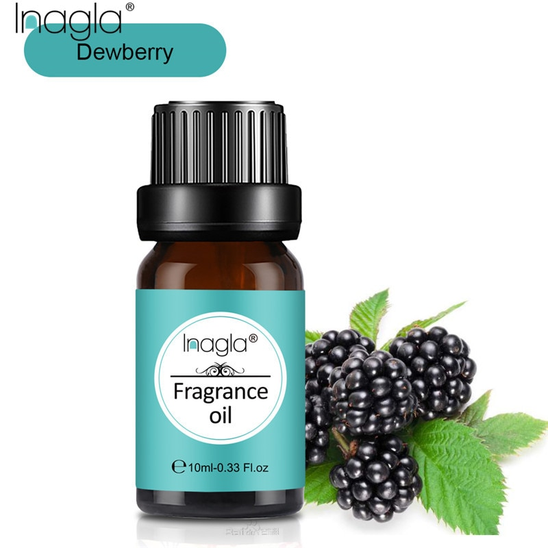 Inagla Dewberry Natural Aromatherapy 10ml Fragrance Essential Oil For Aromatherapy Diffusers Massage