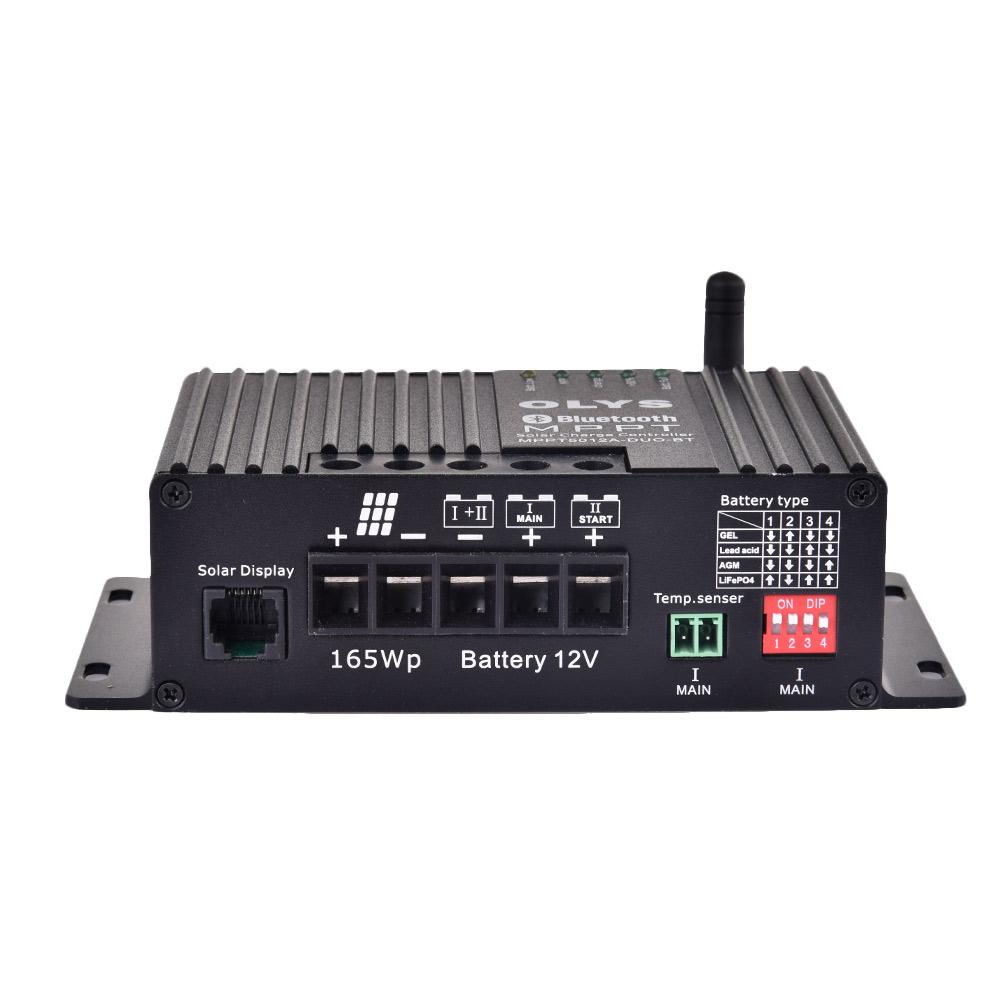 MPPT 25A Solar 12V Laadregelaar a LCD regulador Solar Voor Zonnepaneel Lader 147x74x 40mm